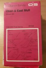 Ordnance Survey Map Sheet 49 Oban and East Mull OS