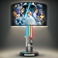 Star Wars Lightsaber Lamp with Illuminated Lightsabers