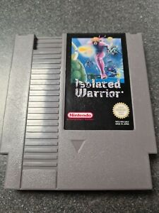 Isolated Warrior Nes Cart Only Pal A