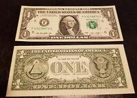 USA Billet de un dollar, États-Unis - NEUF (jamais circulé - idéal collection)
