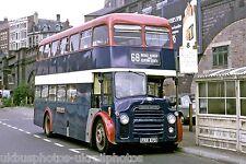 South Notts, Gotham FRR87D Broadmarsh Bus Photo Ref P743