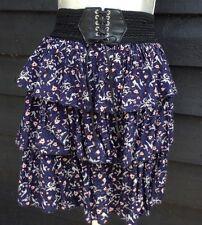 Select Floral layered/Ruffled/tiered Rara Multicoloured Corset Skirt  - 8   B19