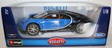 Modellini statici auto blu Burago