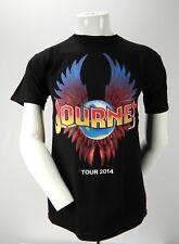 Journey Tour 2014 w/Steve Miller Band Tower of Power Small Black T Shirt Concert
