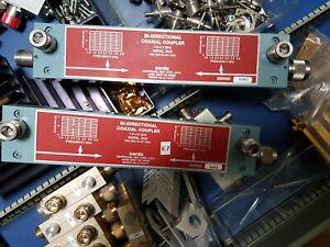 Dual Directional Coupler, Narda 3022 1.0 to 4.0 GHz, 20 dB