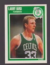 1989 Fleer LARRY BIRD #8