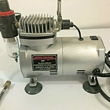 Central Pneumatic Oiless airbrush compressor  with regulator