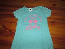 Tee-shirt Turquoise à motif sur l'avant,MC,T 7/8ans,marque Palomino,NEUF!