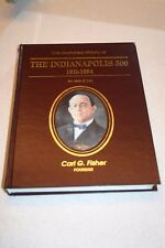 ILLUSTRATED HISTORY OF THE INDIANAPOLIS 500 Jack Fox 1994 4th Edition