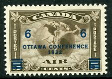 Canada 1932 Airmail 20¢ Scott # C4 Mint H588  ⭐⭐⭐⭐⭐⭐