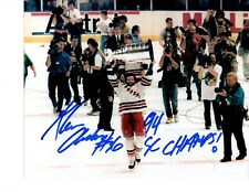 Glenn Anderson autographed signed NHL New York Rangers 8x10 photo