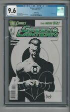 Green Lantern #1 CGC 9.6 NM+ Sketch Cover Variant DC New 52 11/11 Capullo