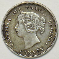 Canada 1900 5 Cents 150710 combine shipping