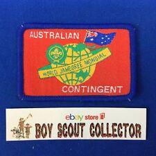 Boy Scout  World Jamboree Australia 1987-88 Australian Contingent Patch