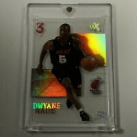 DWAYNE WADE 2003 FLEER E-X #90 ACETATE HOLOFOIL ROOKIE CARD RC NBA FUTURE HOF