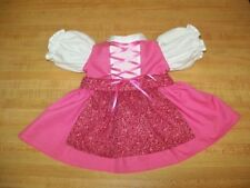"""German Bavarian Dirndl dress w/ apron ONLY for 16"""" CPK Cabbage Patch Kids"""