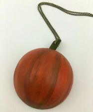 Harvest Fall Pumpkin Necklace