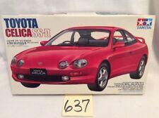 Tamiya 1:24 Toyota Celica SS-II Sports Car Plastic Model Kit #24131! Open! #637