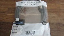 Inakustik  High Speed HDMI CABEL 1,75m 3D 4K NEW