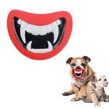 Divertido Juguete Para Mascotas Vinilo Rojo Del Diablo Labios Sonido Sonido