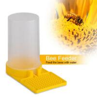 JW/_ 15Pcs Beekeeping Entrance Plastic Water Drinker Bee Honey Feeder Cup Tool