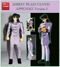 SHIRYU PLAIN CLOTH APPENDIX 1º, para SAINT SEIYA MYTH CLOTH DRAGON ropa de calle