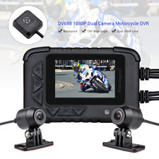 "DV688 2.4"" LCD Motorcycle Dual Lens Dash Aciton Camera DVR Sports Camera w/ GPS"