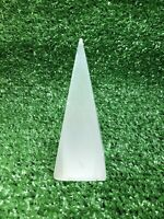 "4"" Selenite Pyramid Crystal Quartz Natural Stone"