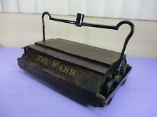 Antique Wooden Bissell THE WARD Push Carpet Floor Sweeper Vacuum Head