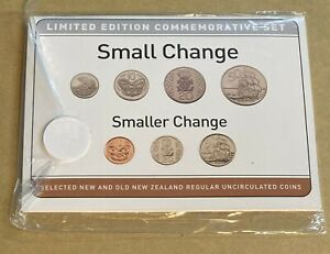 New Zealand 2005/2006 Small Change/Smaller Change Set Limited Edition 5000