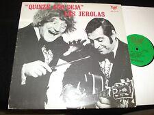 """LES JEROLAS<>QUINZE ANS DEJA<>RARE 12"""" Lp Vinyl~Canada Pressing~ELAN SJL 12501"""