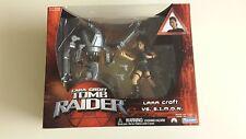 Lara Croft Tomb Raider- Lara Croft vs. S.i.m.o.n