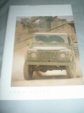 Range Rover 1989 Car Sales Brochures
