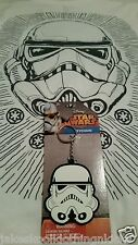 New Star Wars STORM TROOPER Rubber Silicone Keychain Keyring The Force Awakens!!
