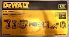 DEWALT DCK720D2 20V MAX Lithium Ion Cordless Combo Kit (7-Tool) BRAND NEW !!!!!!