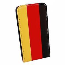 Flip Style Case Handytasche für Samsung I9100 Galaxy SII Deutschland Flagge