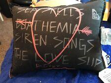 "NEW Roxy Samantha Floral 12""x16"" Multi Toss Pillow - Black & Pink"