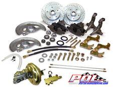 67-69 Chevy Camaro & Pontiac Firebird Power Disc Brake Conversion, Stock height
