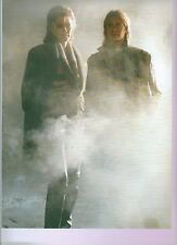 ABBA 'girls in the mist' magazine PHOTO/Poster/clipping 11x8 inches