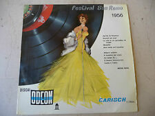 "FESTIVAL SAN REMO 1956-disco 33 giri EP ODEON 1956"""