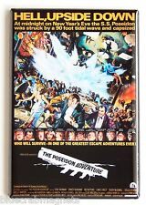 The Poseidon Adventure FRIDGE MAGNET (2 x 3 inches) movie poster ernest borgnine