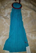 Charter Club Women's Scarf Wool and Cashmere Cable Knit Turquoise Green $68
