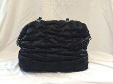 Borsa da donna GABS in tessuto nero con manici trasformabile e base rigida. 93f93beca61
