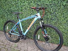 """Matte Bleu 21 VITESSES VTT Vélo de montage bicyclette 27.5 """" ROUE 18 """" cadre"""