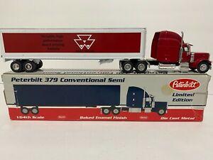 Peterbilt semi truck diecast metal Massey Ferguson dealer advertising SpecCast