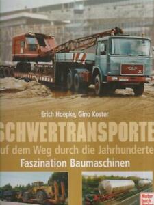 SCHWERTRANSPORTE  AA.VV. MOTORBUCH-VERLAG 1999