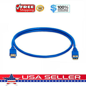 3FT (3 Feet) USB 3.0 SuperSpeed Male A to Female A Extension Cable Cord M/F USB3