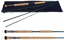 "Temple Fork Baby Blue Water Fly Rod 10-12 wt. 9'0"" 4  pc. LD"