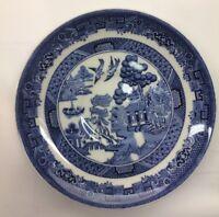 """Johnson Bros -- Blue Willow China -- Vtg 10"""" Dinner Plate"""