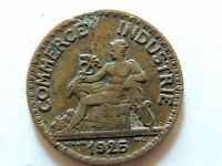 1925 French Fifty (50) Centimes Coin